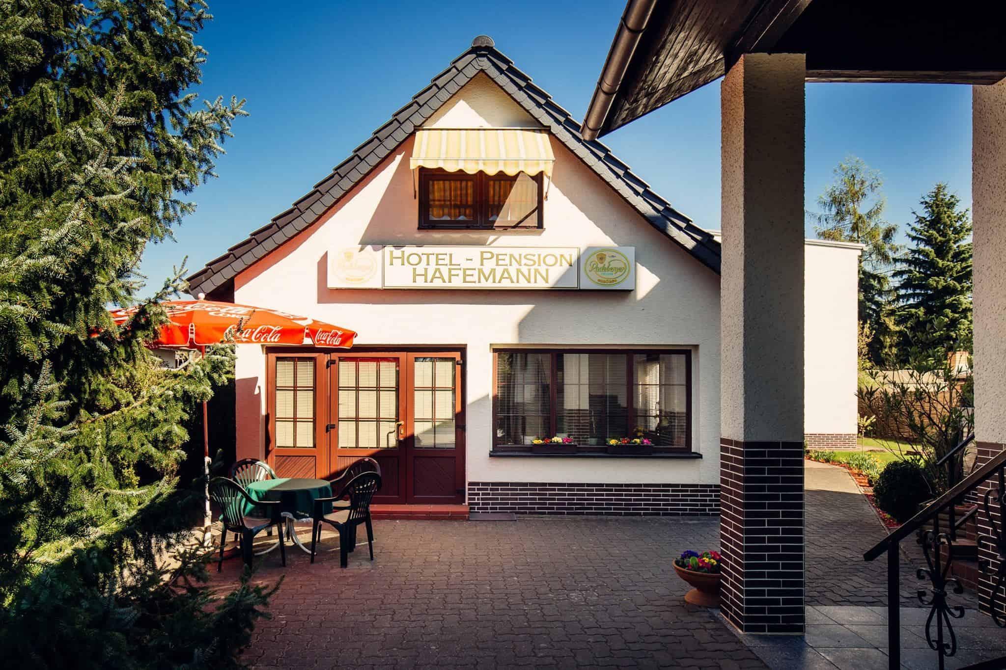 Hotel Pension Hafemann - Außenansicht