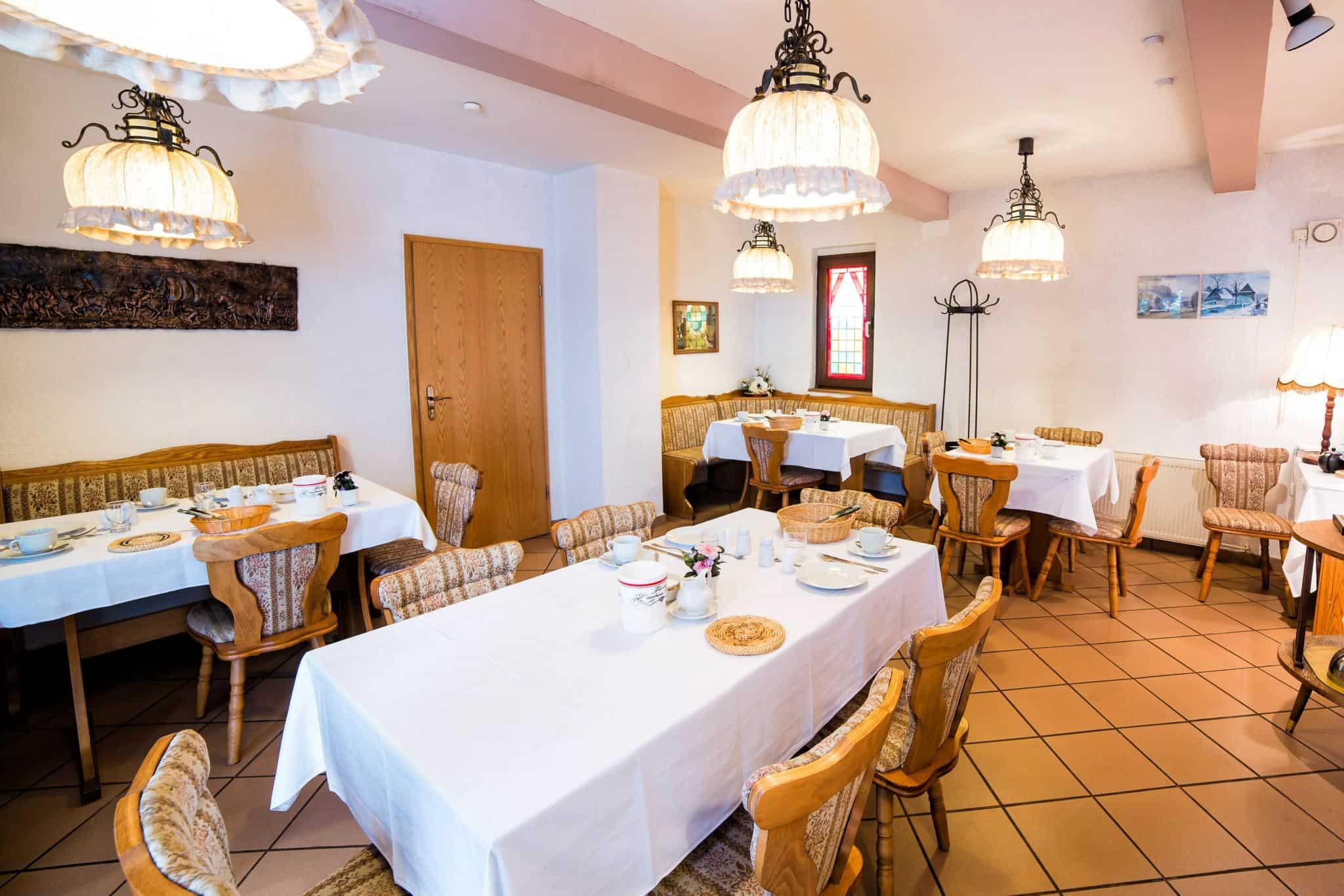 Hotel Pension Hafemann - Frühstücksraum